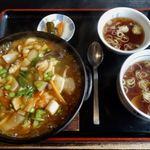 幸華 - 海鮮あんかけ炒飯 1250円