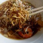 幸華 - 伊府湯麺(汁入り焼きそば) 1150円