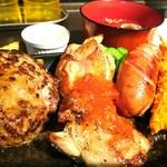 三浦のハンバーグ - ミックスセット 1400円