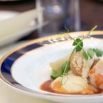 ザ・リッツ・カールトン大阪 - 料理写真:☆甘鯛の鱗揚げとマッシュポテト 蕪 クリュスタシアンソース