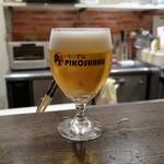 PIKOSHHHU - 生ビール2杯目