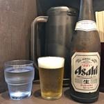 menyaryuu - 水 + 瓶ビール