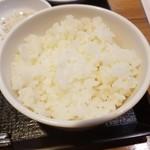 韓国家庭料理 炭火焼肉 しんちゃん - ライス