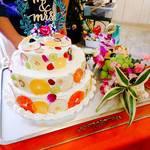 石窯ピザ&ダイニング LIBEROcafe - 2次会やカフェウエディングも承っております。オプションでウエディングケーキなどもご用意いたします。