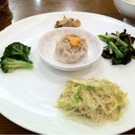 香園 - 定食の前菜