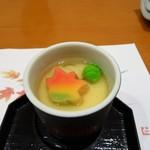 宵月・鮨ダイニング - 先附(茶碗蒸し)