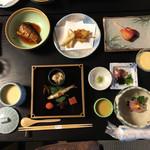 納屋孫 - 料理写真:昼食✳︎琵琶湖八珍料理