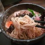 中華そば 石黒 - 肉黒にぼの麺