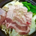 居酒屋 GACHA GACHA - 胡麻と野菜たっぷり鍋料理 ピリ辛坦々鍋も♪