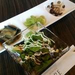 コリアンダイニング ミレ - ランチのサラダ