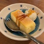ア ビヤント  - プチデザート(チーズケーキ)