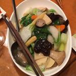 シネマカフェ - 野菜塩焼きそば