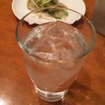 シネマカフェ - 焼酎水割り