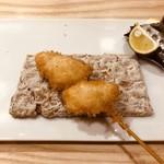 sousakukushiagetsuda - 松茸 酢橘と塩で