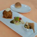ストロバヤ - 鰕巻(えびまき)蟹奶油可樂餅(かにクレムコロッケ)、一式(ひとそろひ)