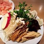 小肥羊 - 野菜&キノコ