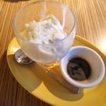 フリホーレス - コーヒーアフォガート
