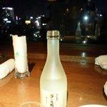 パークトップ - 無理行って日本酒を用意して頂いた