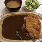 キッチン南海 - カツカレー(650円)