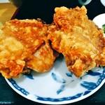 中華料理 喜多郎 - 定食セットの大唐揚げ