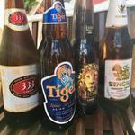 ケニーアジア - アジアビール 600円~