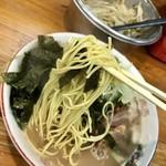 恵比須 - 中太麺!