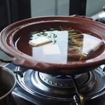 95649569 - 鯛あらと豆腐の小鍋付き