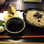 信濃庵  - 天ざる