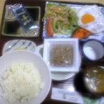 レストラン岬 - 宿泊時の朝食①