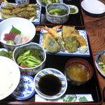 レストラン岬 - 宿泊時の夕食