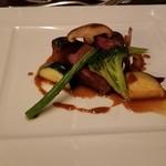 レストラン フィオーレ - メインをオリーブ牛に変更