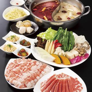【満喫コース】バラエティ豊かな食材を楽しめる満足のコース♪