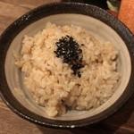 玄三庵 - 玄米ごはん