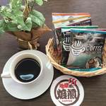おおいた温泉座 - 地獄蒸しコーヒー¥350/販売用ドリップコーヒー¥180