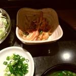 旬菜旬味 燈明 - 小鉢サービス