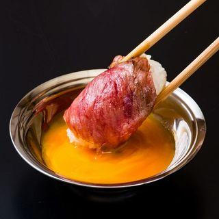 ★セルフ肉寿司を好きなだけ存分に★