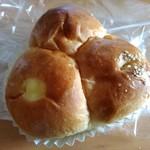 タケシタベーカリー - 3色パン