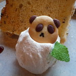 Sumi Cafe - 可愛いパンダクッキーは店頭販売あり