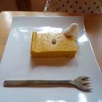Sumi Cafe - 糸島産かぼちゃのチーズケーキ