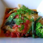 9566175 - 魚料理メインのカレイのムニエル。