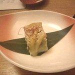 9566253 - 鶏そぼろとなすのゴマ豆腐