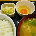 なか卯 - とん汁定食