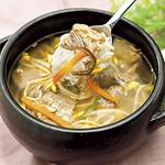 神戸クック ワールドビュッフェ - 『クッパスープ』 野菜と肉の旨味がたっぷり溶け出したスープ!!