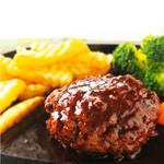 神戸クック ワールドビュッフェ - 『デミグラスハンバーグ』 野菜の旨味が溶け込んだデミグラスソースが絶妙なハーモニー♪