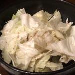 和樂 - 箸休めのキャベツ