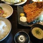 産直青魚専門 御厨 - アジフライ定食