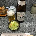 かつ銀 - 瓶ビール 540円