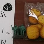 うふ カフェ - 料理写真:カボチャのクッキー200円
