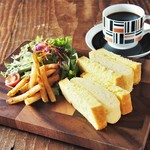 NORTH LOUNGE 北欧館 - 【FOOD】厚焼き玉子サンド
