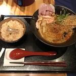 95674658 - 鯛担麺、鯛めしセット(1000円)